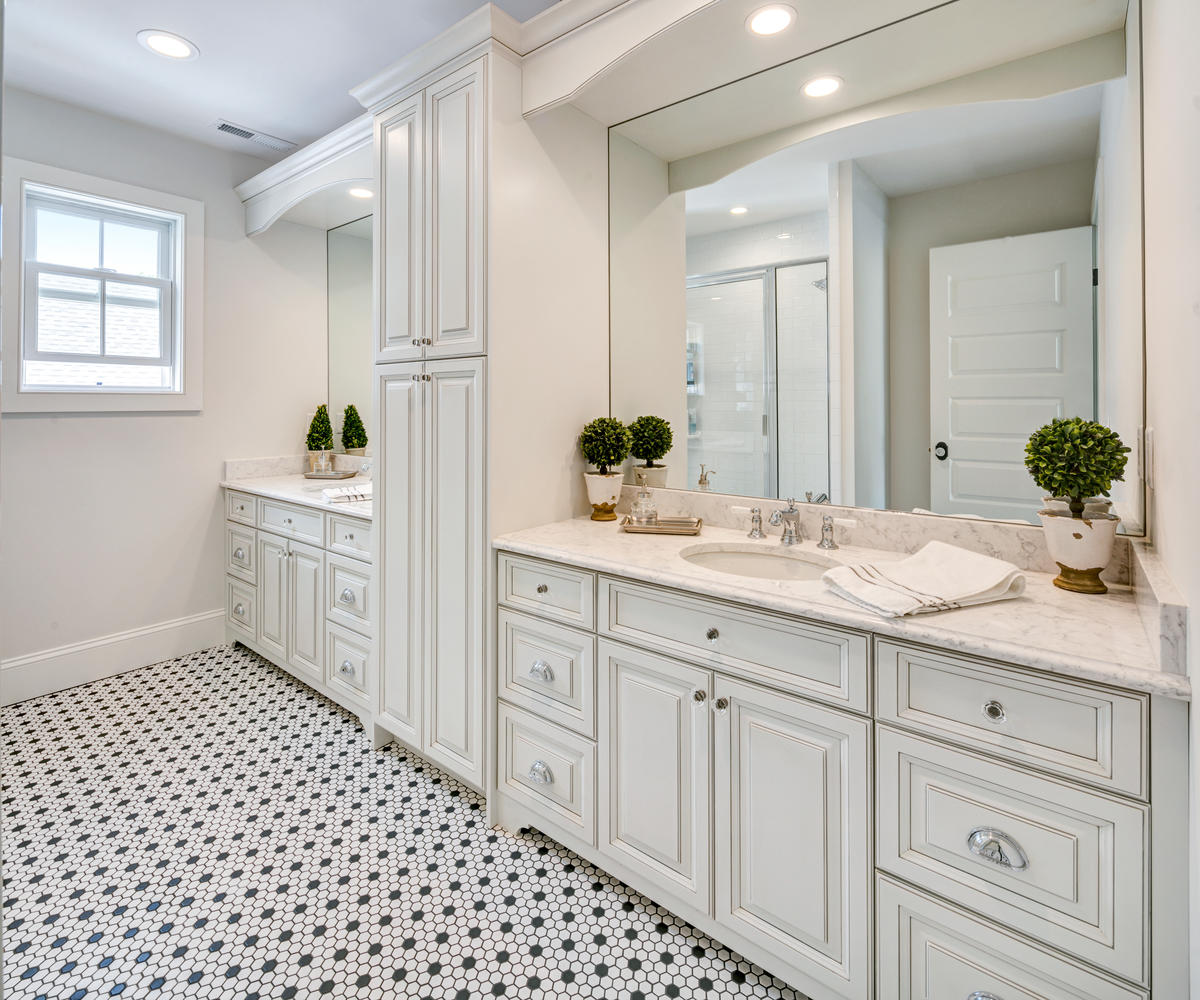 Custom Bath Vanity Design custom vanity / bathroom cabinetry | design line kitchens in sea