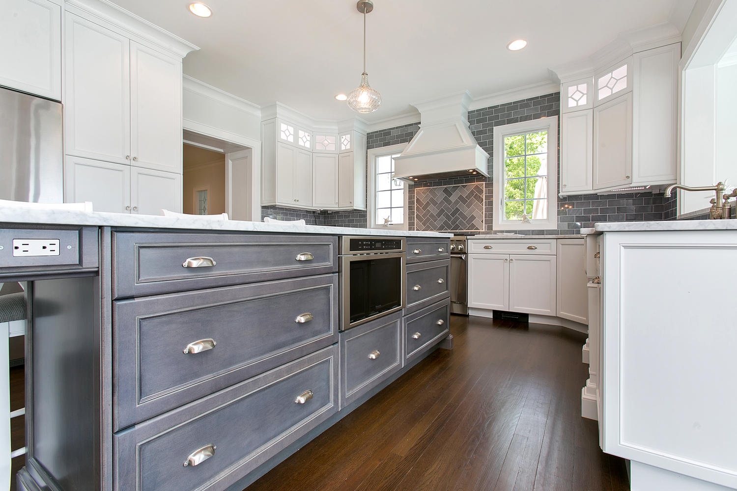 Kitchen Island Outlet Kitchen Cabinetry Design Line Kitchens In Sea Girt Nj