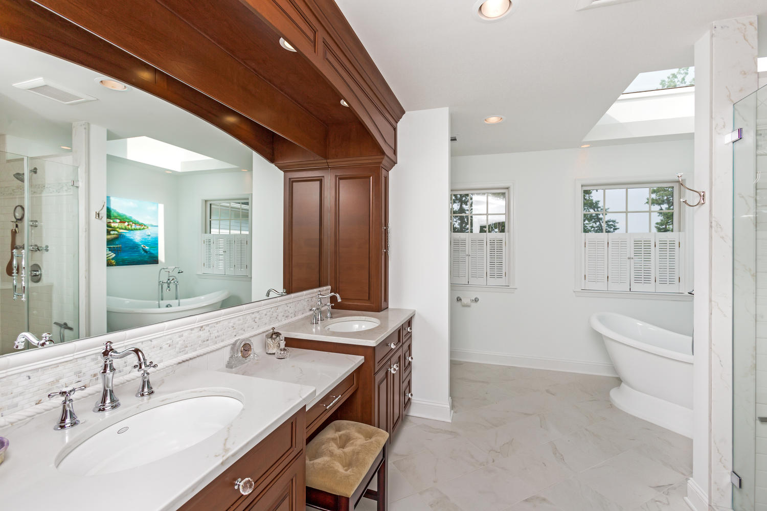 Custom Vanity / Bathroom Cabinetry | Design Line Kitchens in Sea ...