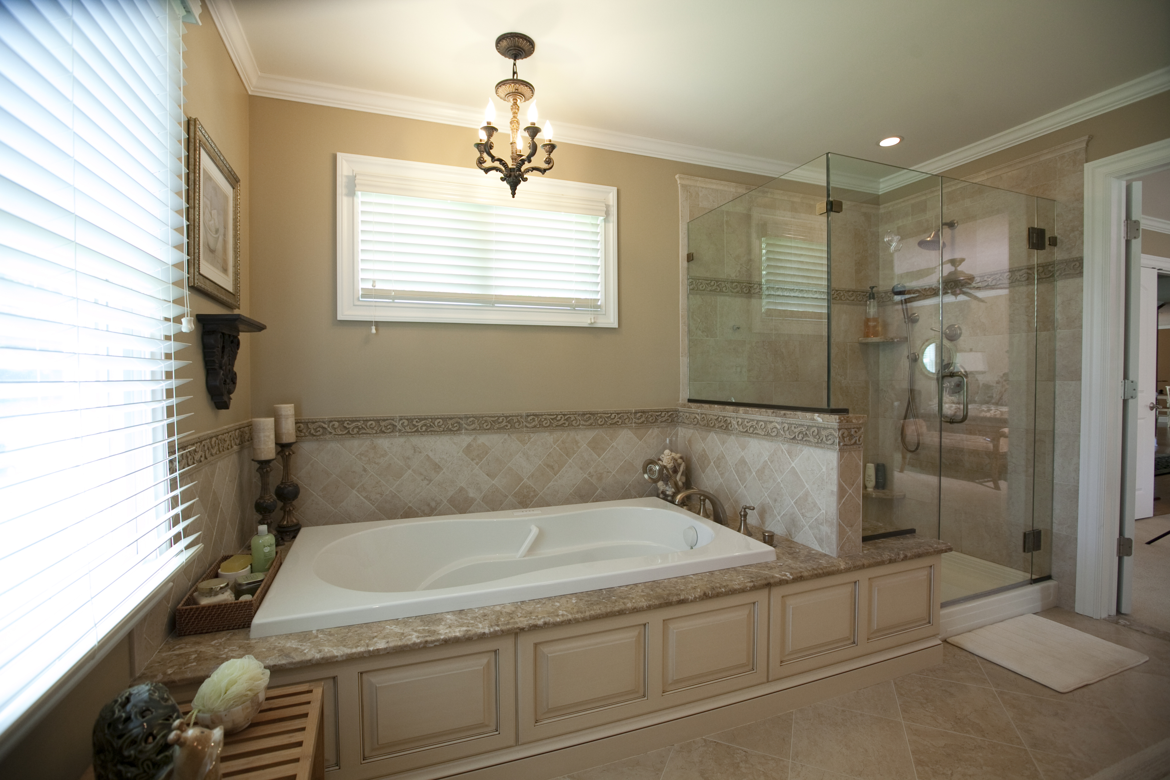 Custom Showers Design Line Kitchens In Sea Girt NJ - Custom showers