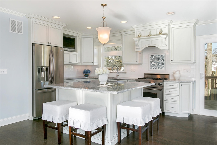 Large Square Kitchen Island in Point Pleasant, New Jersey