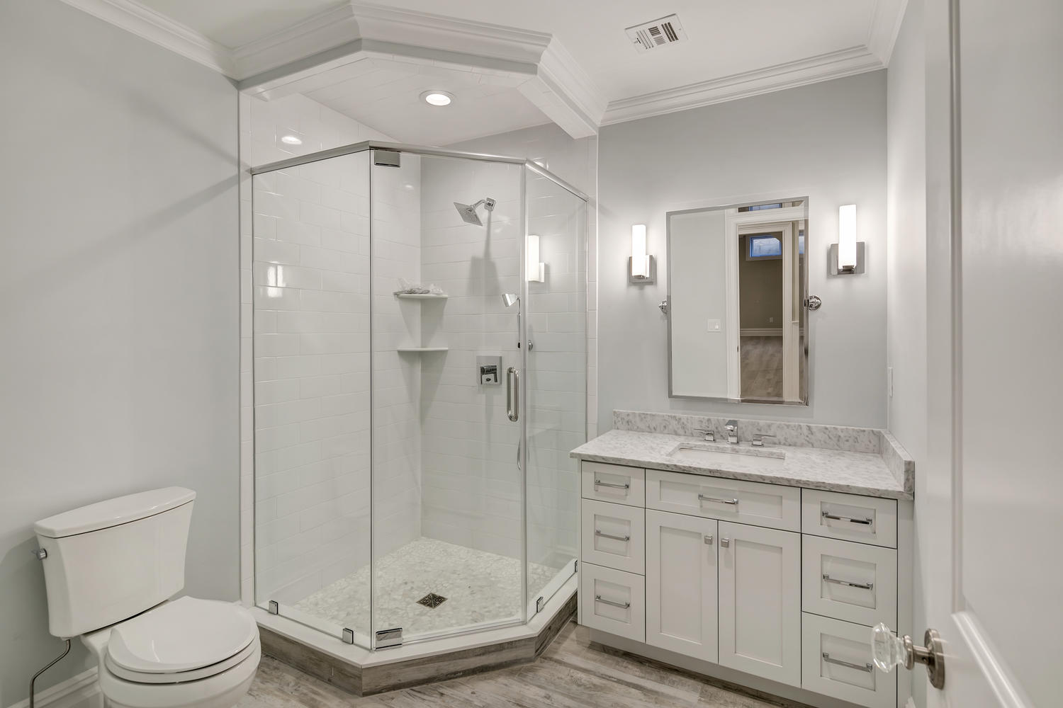 Bath vanities monmouth county new jersey by design line kitchens for New style bathroom vanity