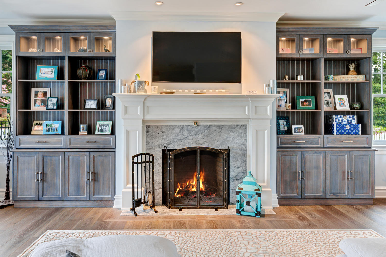 Perfect Custom Built In Bookshelves