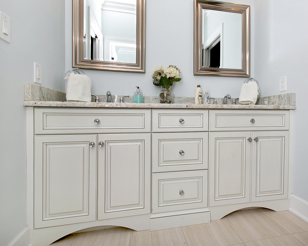 Bathroom vanities nj bathroom vanities nj lovely custom for Custom bathroom vanity designs
