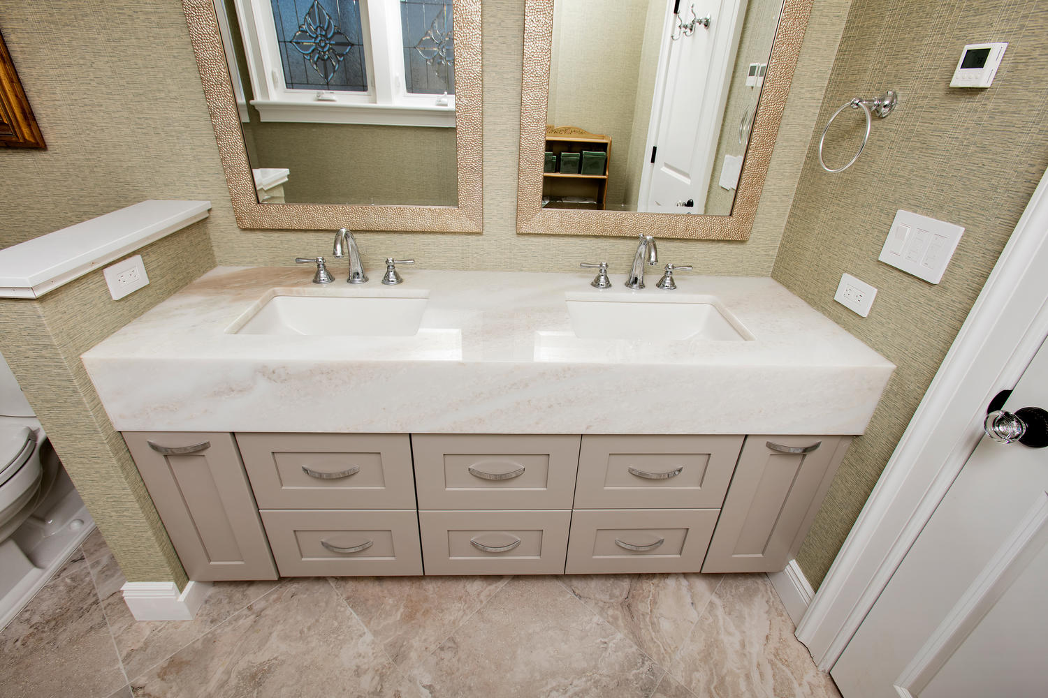 vanity bathroom cabinetry design line kitchens in sea girt nj