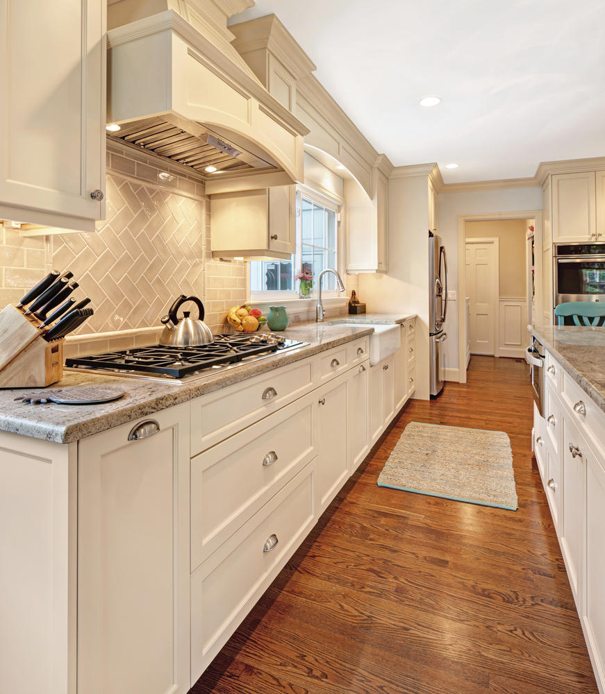 Kitchen With Reclaimed Wood Lincroft New Jersey By Design