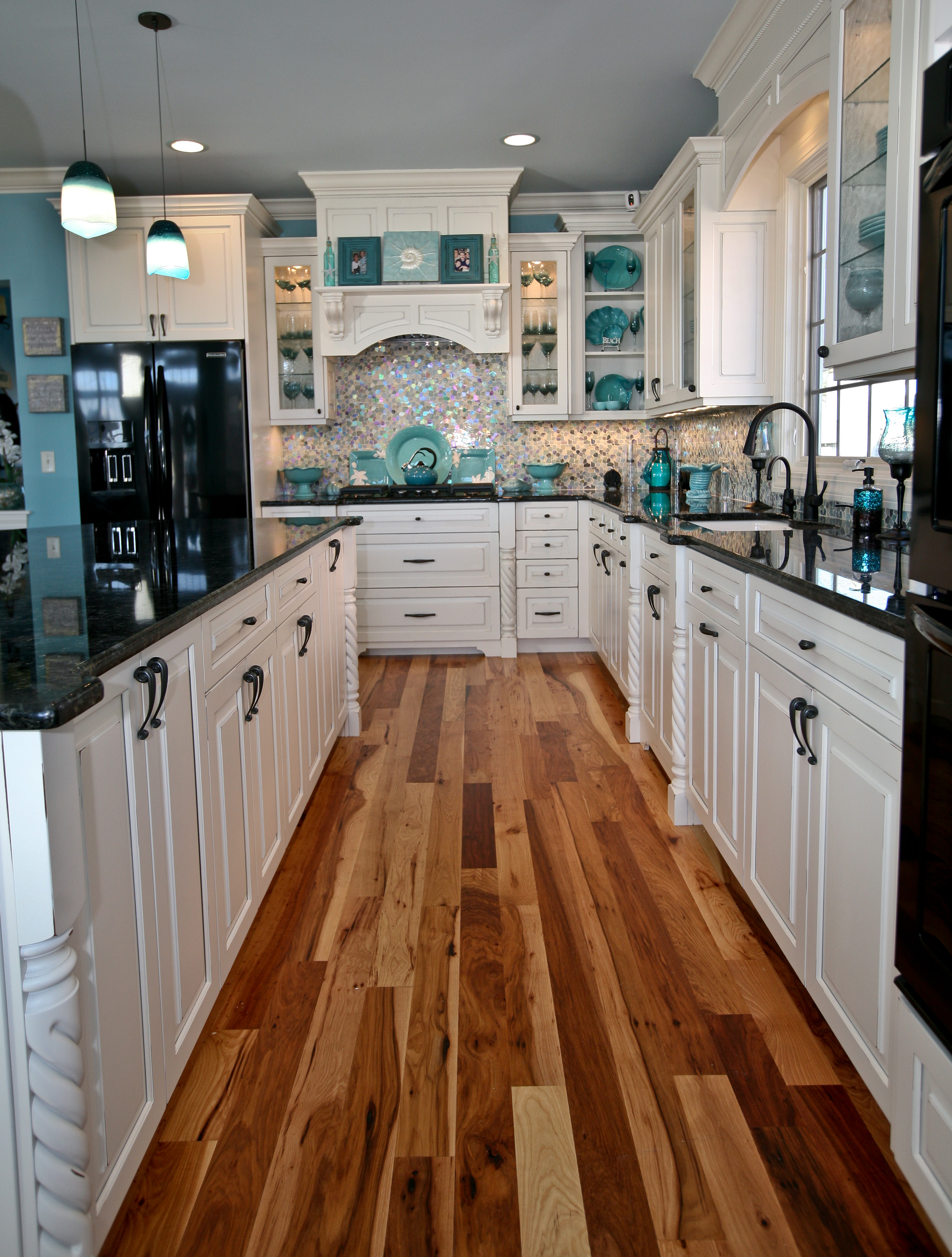 Fabulous Kitchens teal appeal kitchen point pleasant new jerseydesign line kitchens