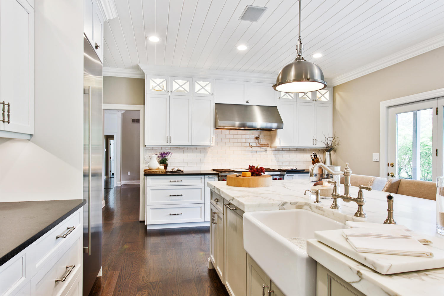 The white kitchen perfected wall township new jersey by design line kitchens - Design line kitchens ...