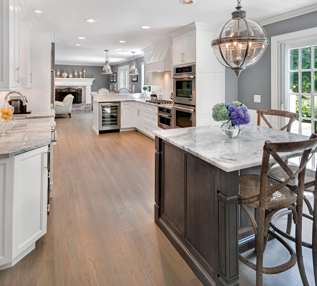 Grey And White Kitchens: Timeless Grey And White Kitchen Middletown New Jersey By
