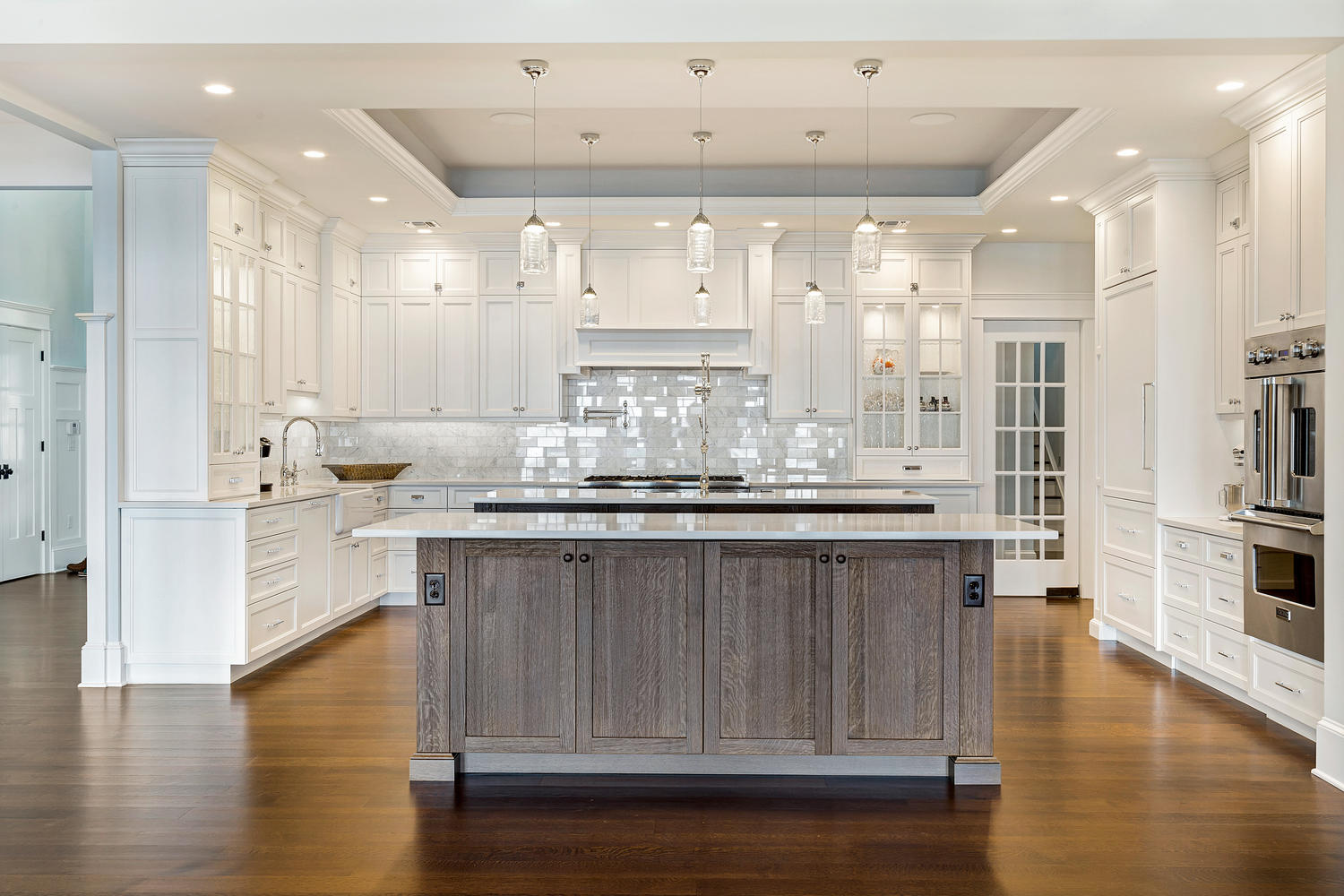 Coastal dream kitchen brick new jersey by design line kitchens for Dream kitchens