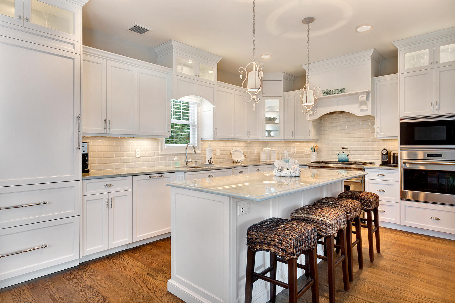 Refined Casual Style Kitchen Brielle New Jersey by Design Line Kitchens