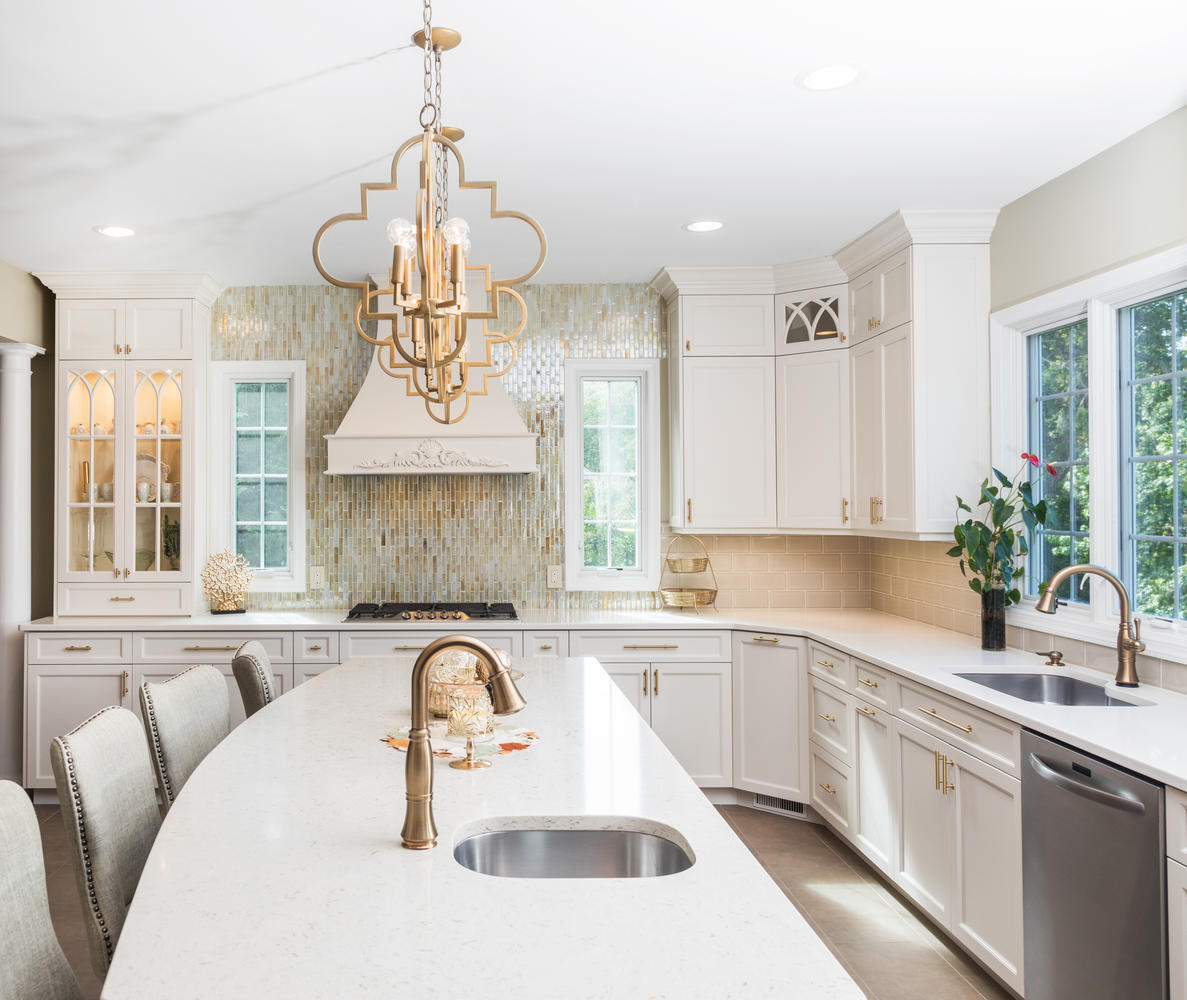 It S A Win With Gold Wall New Jersey By Design Line Kitchens