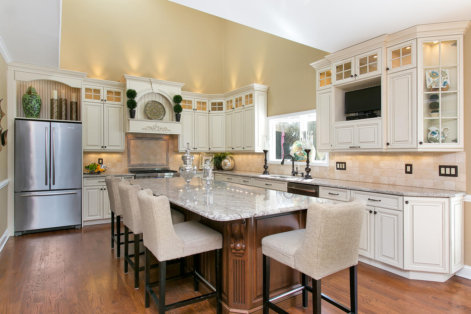 Beau ... New Classic Kitchen Kitchen Bathroom Remodeling Custom Cabinets  Countertops Toms River Nj ...