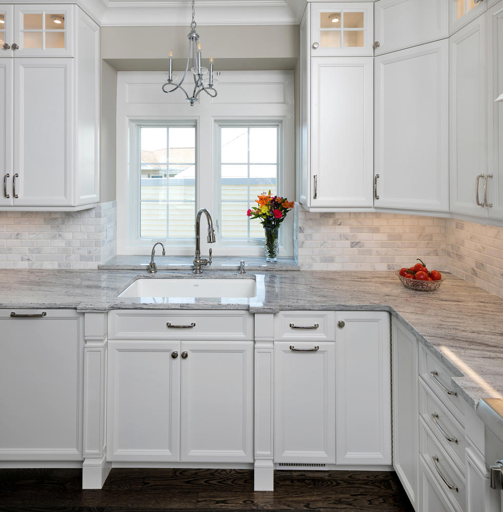 Nj Kitchen Remodeling Property: By The Seaside White Kitchen Seaside Heights New Jersey By