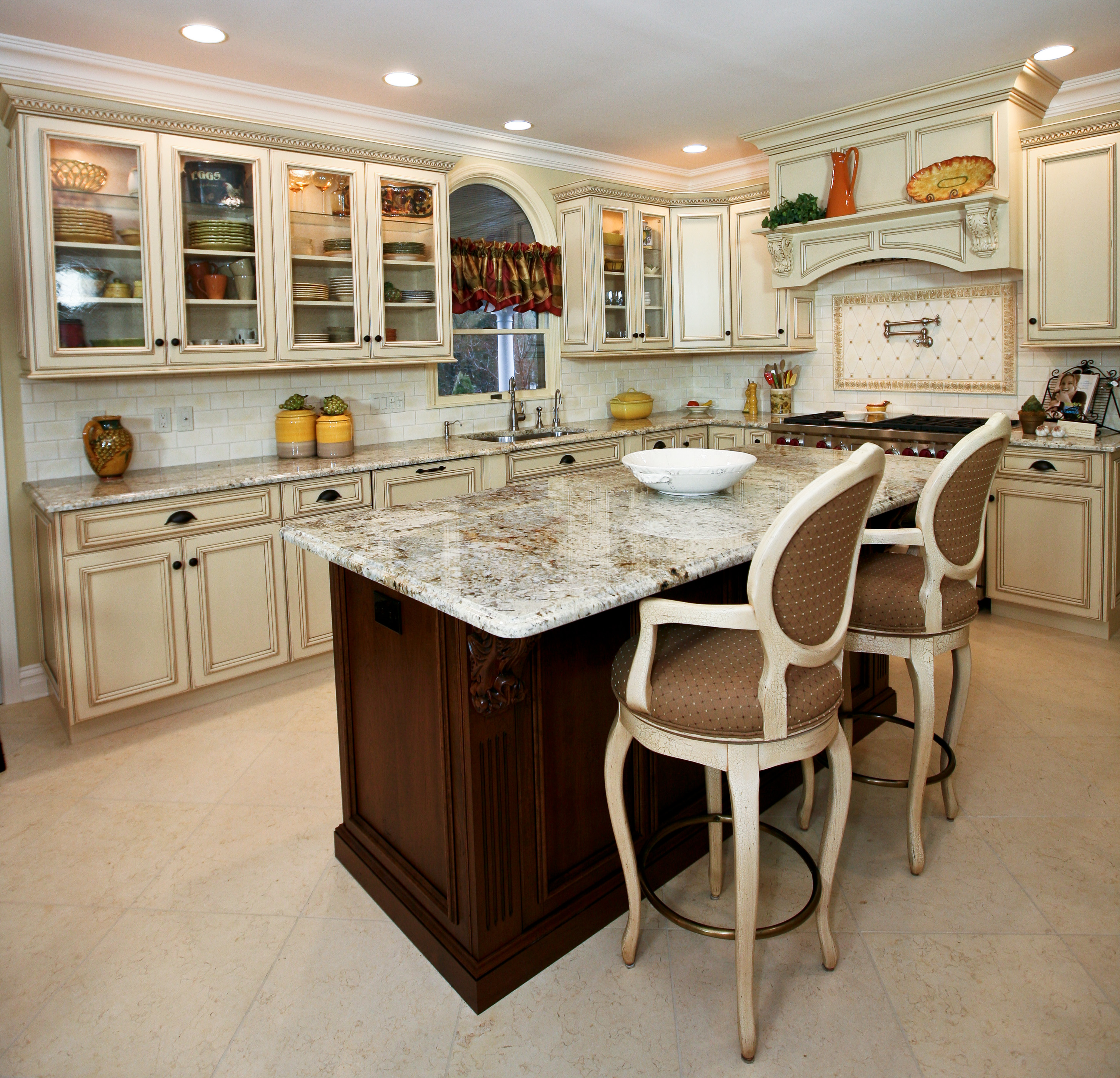 Elegant Kitchens: Country French Elegance Manasquan New Jersey By Design Line Kitchens