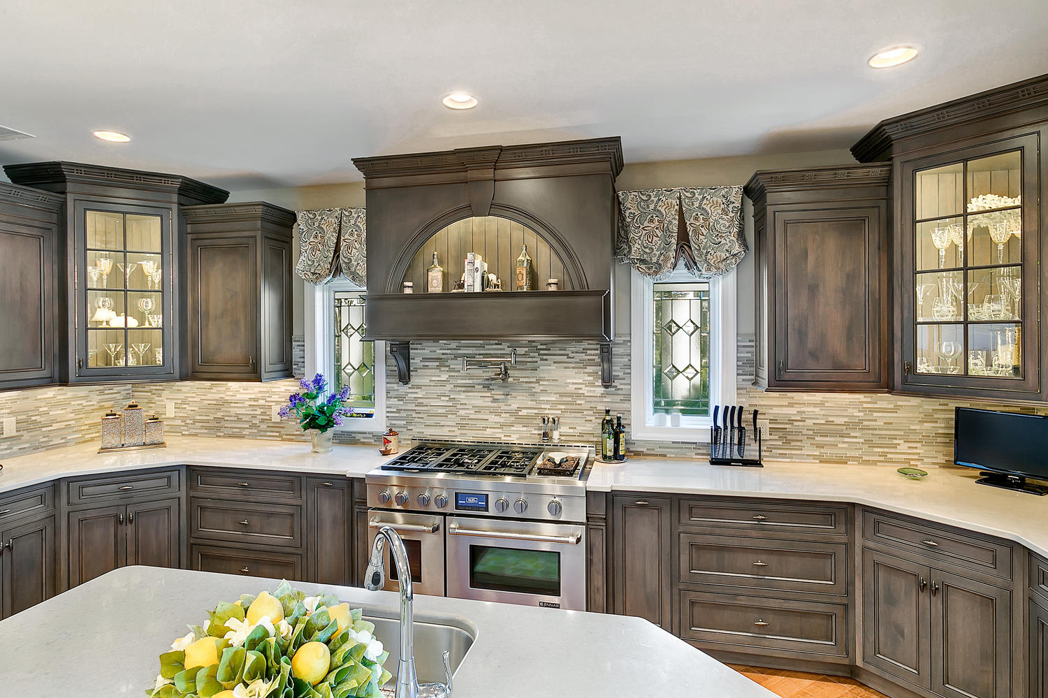 Driftwood with Glaze Large Kitchen Point Pleasant New ...