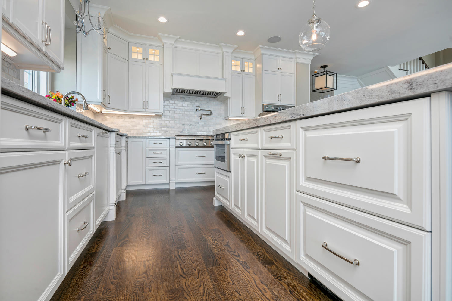 By The Seaside White Kitchen Seaside Heights New Jersey By Design Line Kitchens