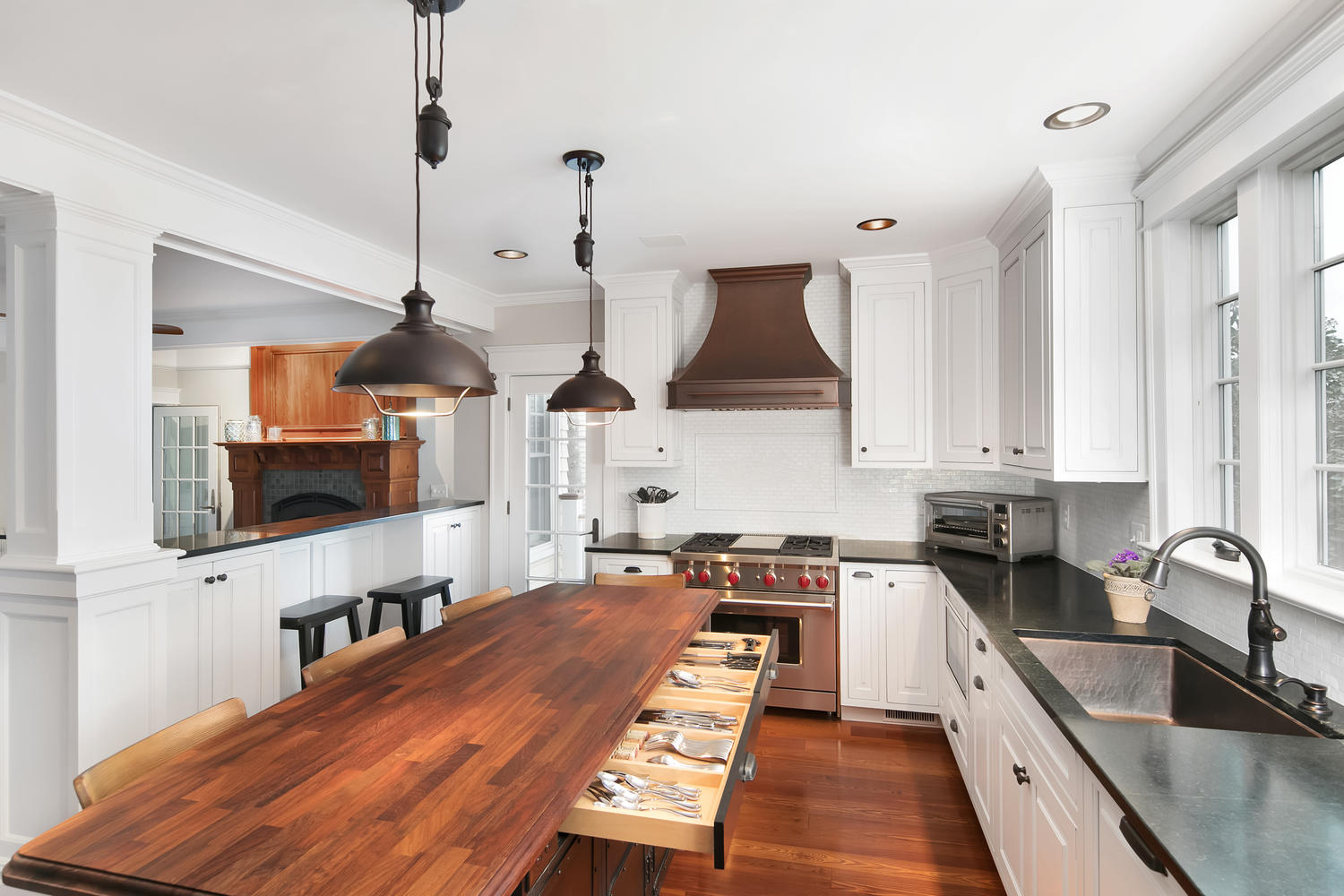 Modern vintage inset avon by the sea new jersey by design line kitchens - Design line kitchens ...