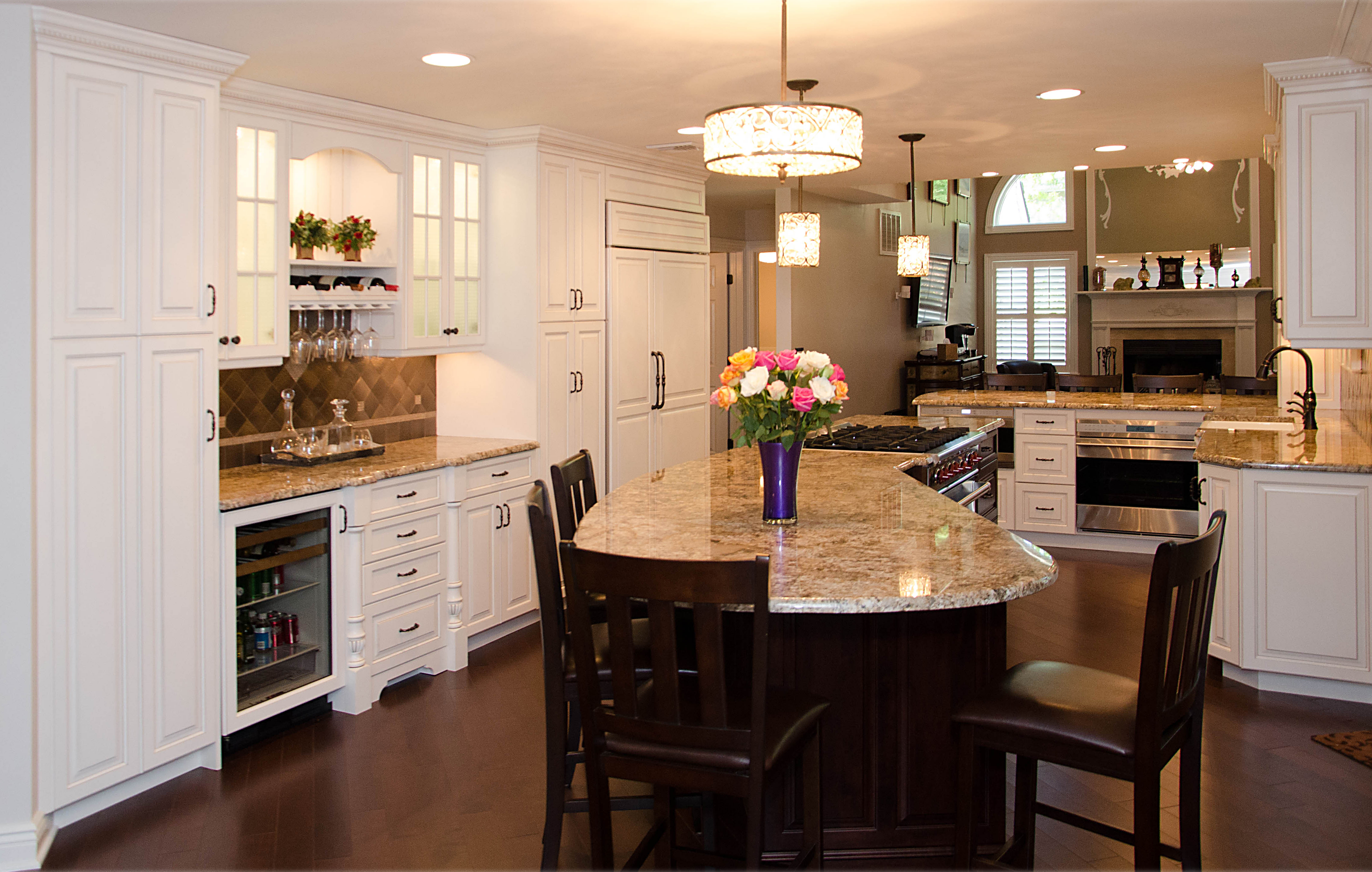 Angled Center Island · Center Kitchen Island
