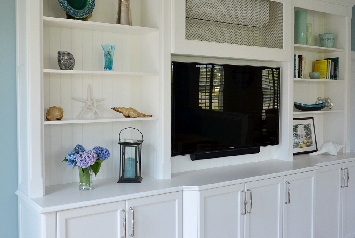 Custom entertainment center wall new jersey by design line for Custom built cabinets