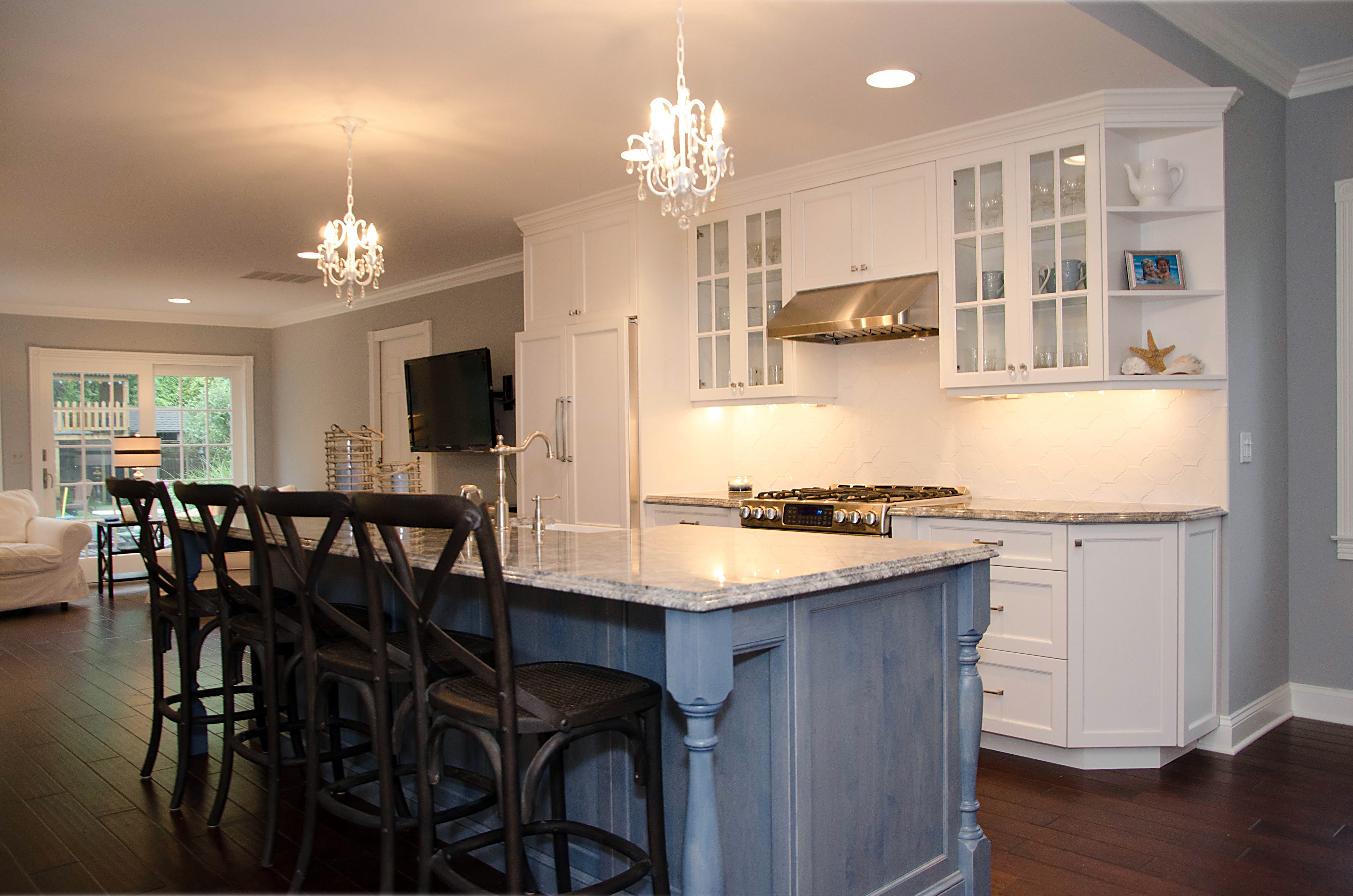 Shore Kitchen Renovation Brielle NJ by Design Line Kitchens