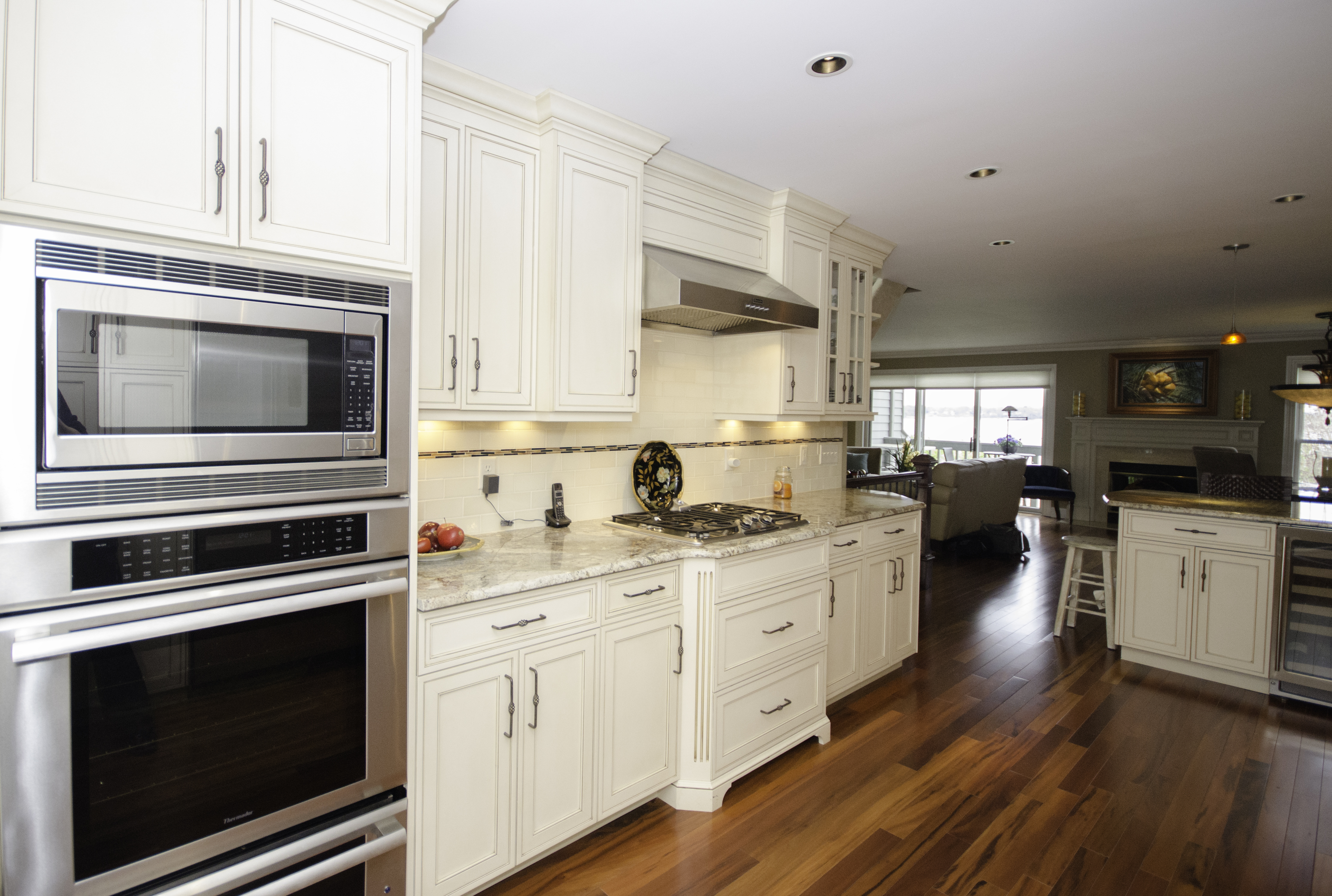 Galley Kitchen with Peninsula Neptune NJ by Design Line ...