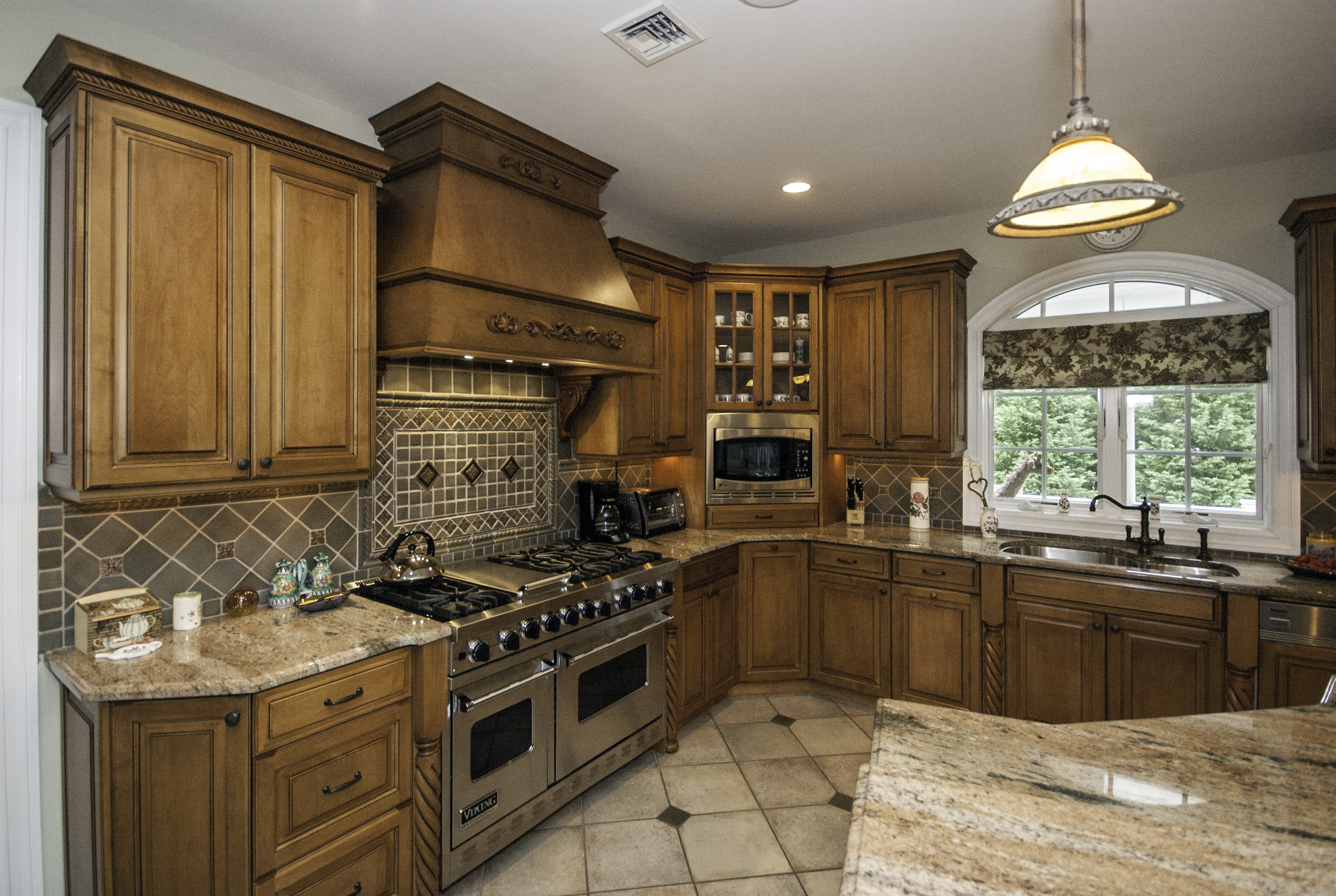 New Kitchens Light Stained With Glaze Kitchen Ocean New Jersey By Design Line
