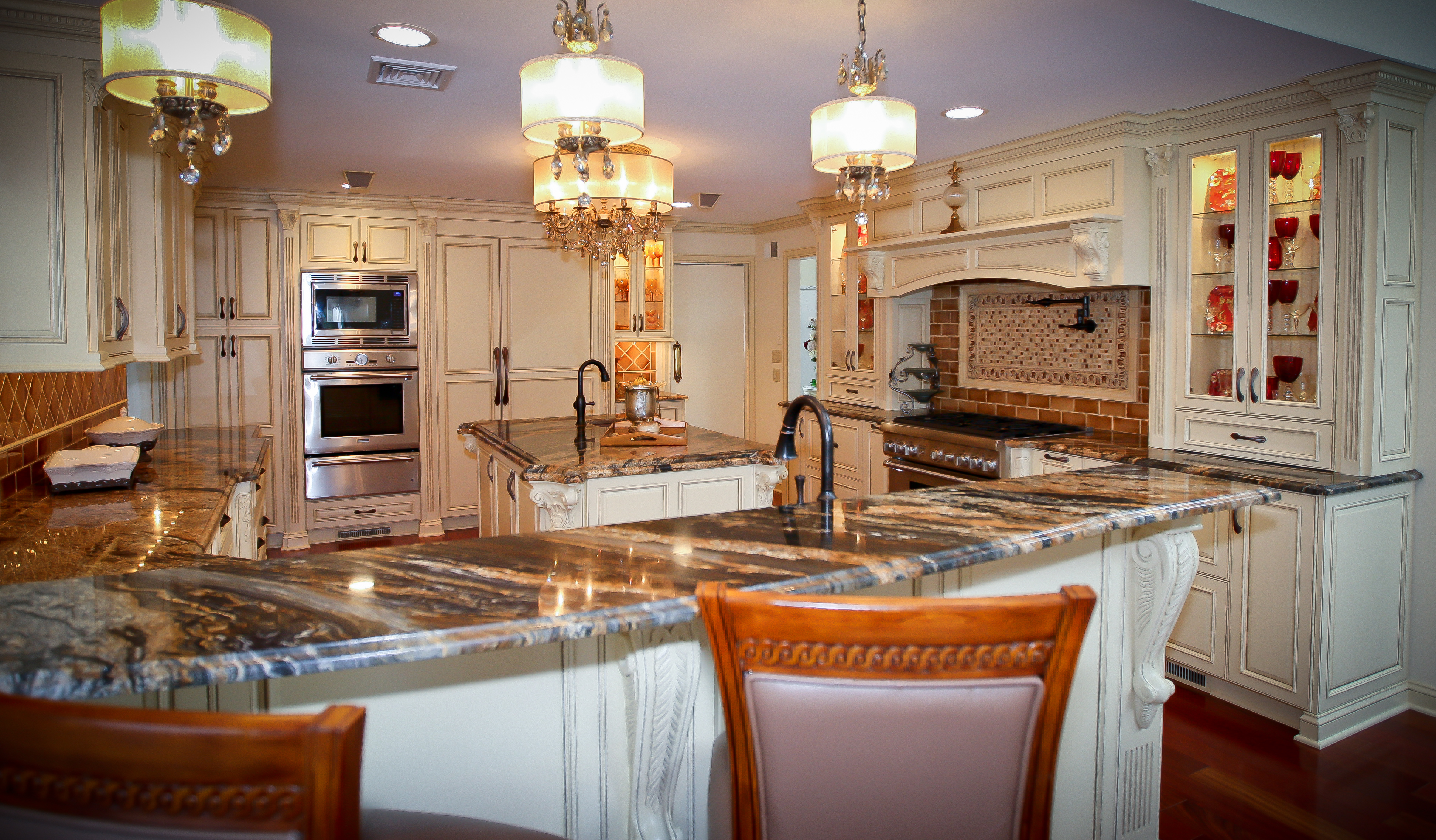 Old World Kitchen Traditional Old World Charm Spring Lake New Jersey By Design Line