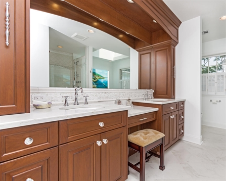 Bath vanities monmouth county new jersey by design line for Bathroom cabinets 1800mm
