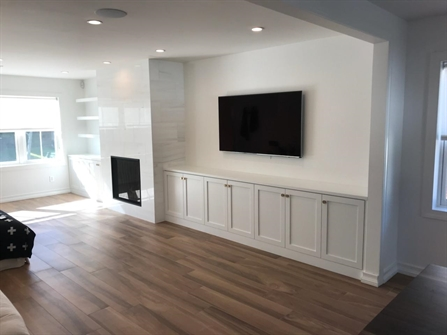 Custom Cabinet Wall Built Ins Brielle New Jersey by Design ...