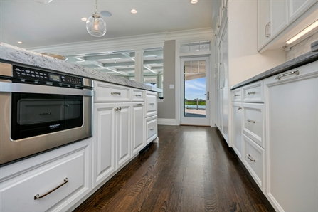 By The Seaside White Kitchen Seaside Heights New Jersey By