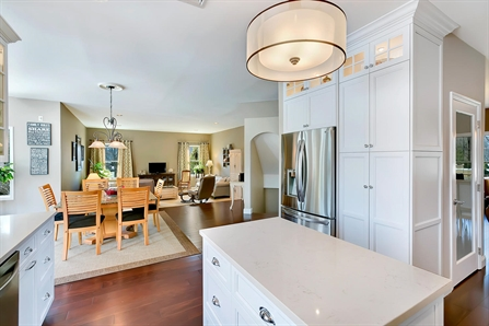 White Shaker Style Kitchen Manalapan New Jersey By Design