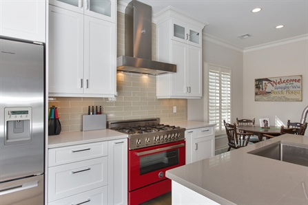 Clean And Contemporary Kitchen Manasquan New Jersey By