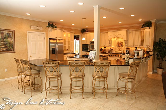 tuscan style kitchen oakhurst nj by design line kitchens 125 awesome kitchen island design ideas digsdigs