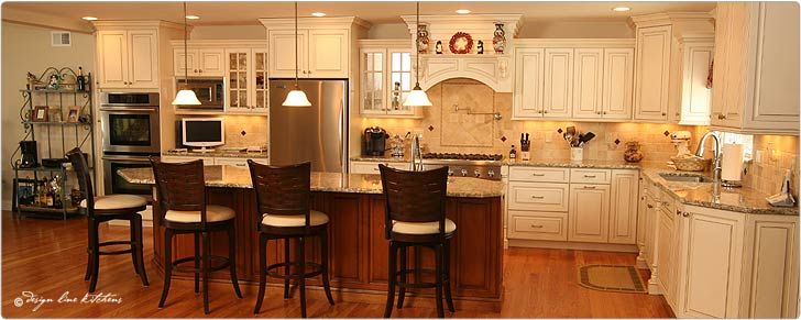 NJ custom cabinets, dream kitchen designs & discount kitchen cabinets