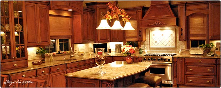 Custom Kitchens NJ : Design Line Kitchens Showroom & Custom ...