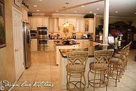 Oakhurst NJ - Custom Tuscan Kitchen